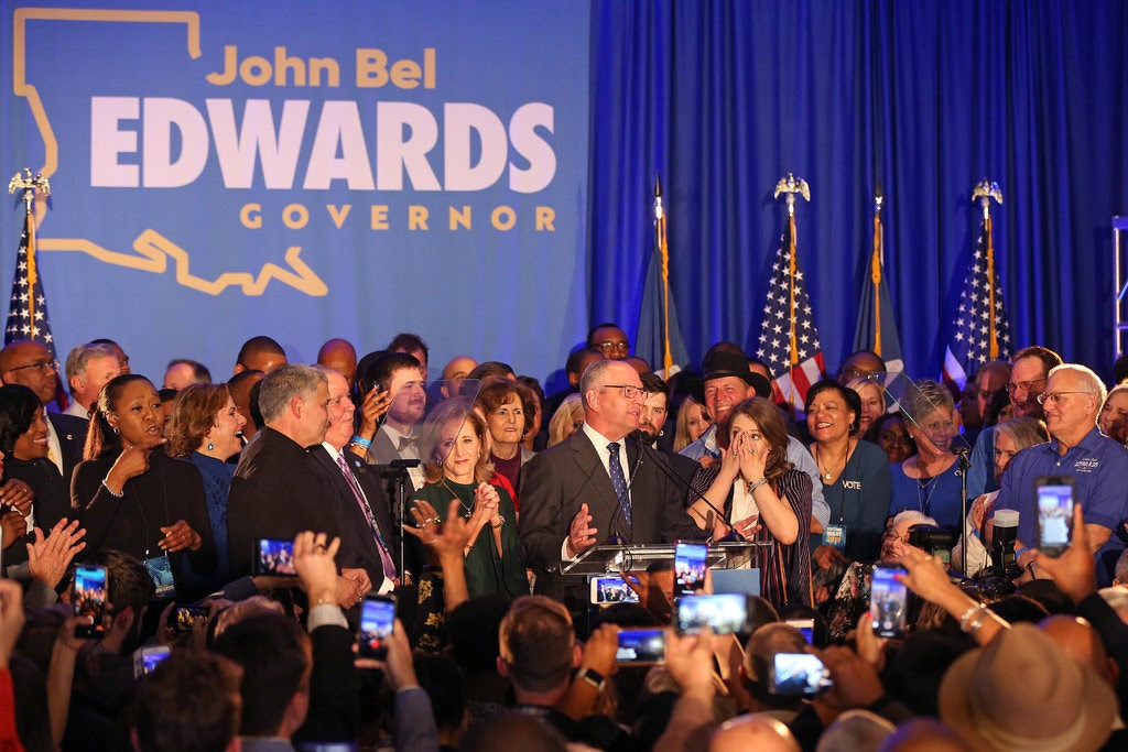 john bel edwards for governor rally
