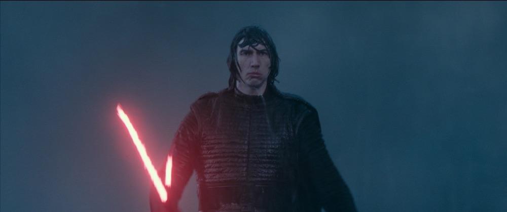 star wars scene with light sabre